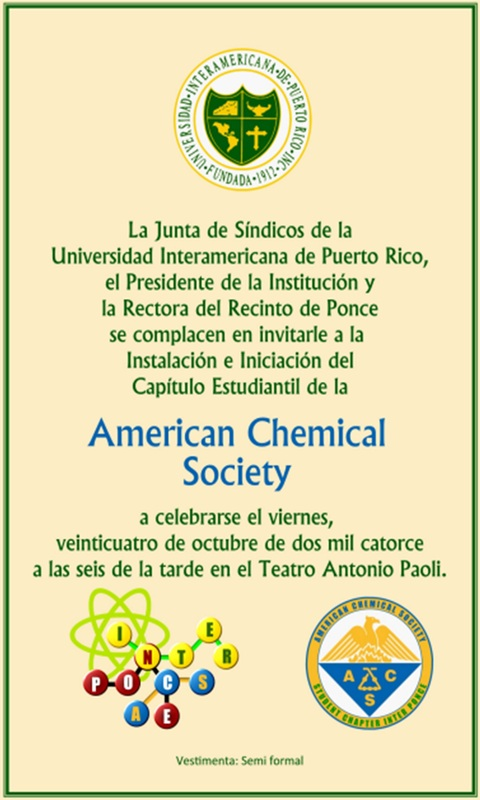 american chemical The american chemical society (acs) is a scientific society based in the united states that supports scientific inquiry in the field of chemistry founded in 1876 at new york university, the acs currently has more than 158,000 members at all degree levels and in all fields of chemistry, chemical engineering, and related fields.
